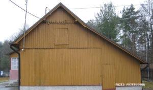 stary dom przed remontem archiwizja